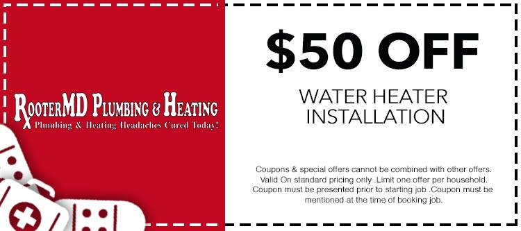 Coupons Amp Specials Rooter Md Plumbing Amp Heating